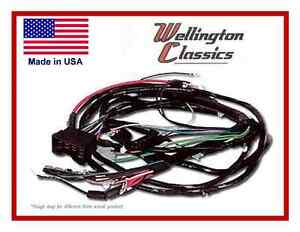 1964 1965 1966 1967 1968 1969 chevelle engine and front light wiring harness kit ebay. Black Bedroom Furniture Sets. Home Design Ideas