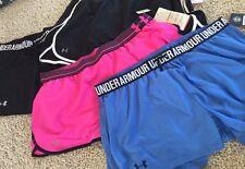 Women's Under Armour Summer Short New Size Extra Large Running XL $105 4 Pair