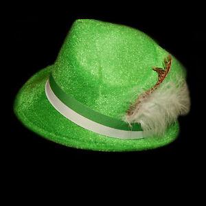 784e031ba84229 Image is loading Green-Oktoberfest-German-Lederhosen-Hat-Alpine-Robinhood- Costume-