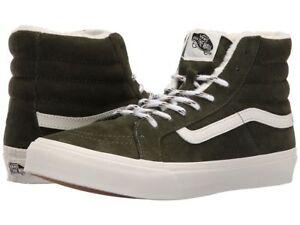 7f0c373f27 Vans SK8 HI SLIM Scotchgard Duffel Bag White Women s Shoes 5 - Men s ...