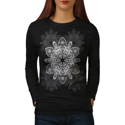Indian Style Women Long Sleeve T-shirt NEWWellcoda