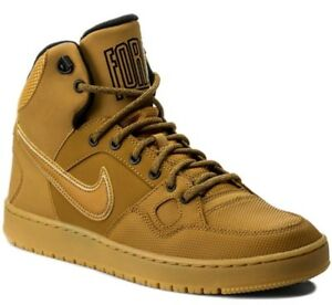 Details zu Nike Son Of Force Mid Winter GS Wheat Boys Girls Ankle Boots Uk 3 Bnib 807392700