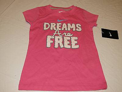 Nike active t shirt toddler 2T girls Nothing But Awesome 261929 Gray 017 NWT^^