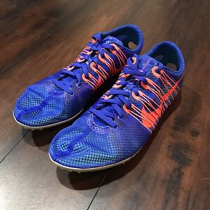 buy online 82390 a9ffc Image is loading Nike-Zoom-Victory-2-Flywire-Track-Spikes-Size-