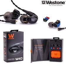 Westone W40 Quad-Driver Noise Isolating Earphones Monitors l Authorized Dealer
