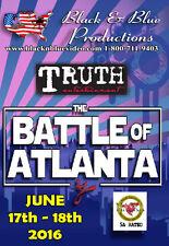 2016 Battle of Atlanta Karate Tournament DVD 2 and half hours long