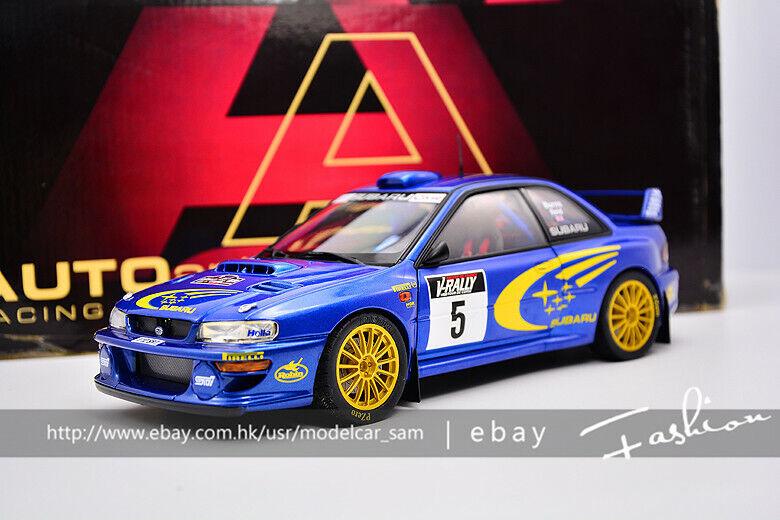 AUTOart 1 18 Subaru Impreza 2002 WRC