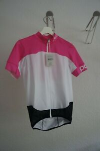 POC-Climber-Raceday-Jersey-camiseta-talla-s-rosa-blanco-nuevo-camiseta-verano