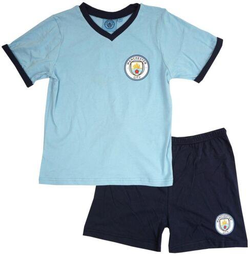 Boys Football Pyjama Set Age 3-12 Years