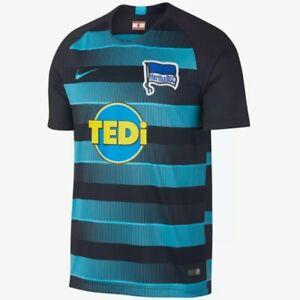 229354793 Nike Hertha Berlin Soccer Club Away Sleeve Short Jersey Men s NWT