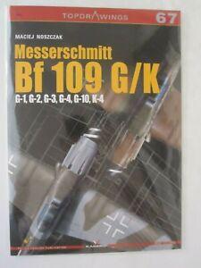 Kagero-Messerschmitt-Bf-109-G-K-G-1-G-2-G-3-G-4-G-10-K-4-TopDrawings