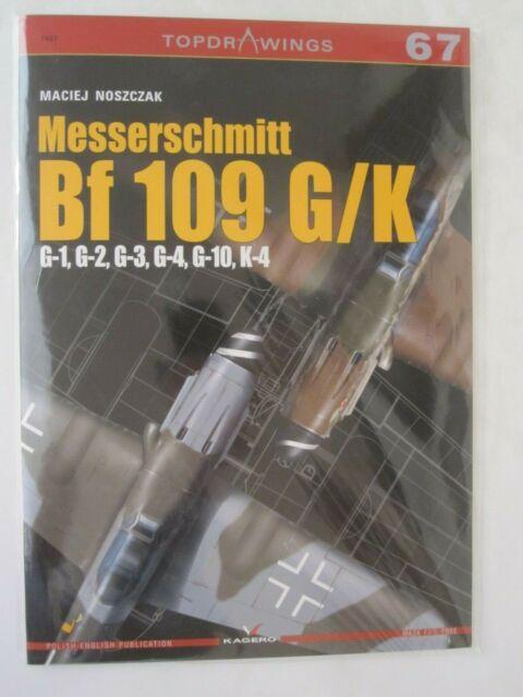 Kagero - Messerschmitt Bf 109 G/K: G-1, G-2, G-3, G-4, G-10, K-4 (TopDrawings)