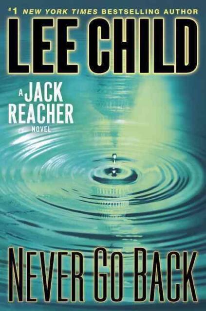 Never Go Back von Lee Child (2013, Gebundene Ausgabe) / Tom Cruise Jack Reacher