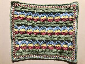 EGG-EASTER-Crochet-Lovey-Security-Baby-Toddler-Blanket-HANDMADE-Shower-Gift-MAT