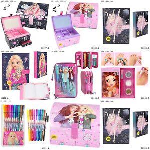 Details About Top Model Fantasy Sticker Books Colouring Books Pens Pencil Secret Dairy