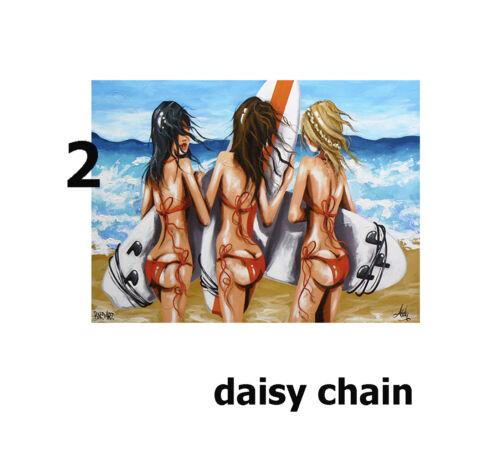 art print poster canvas paper  paintings original abstract Beach Australia