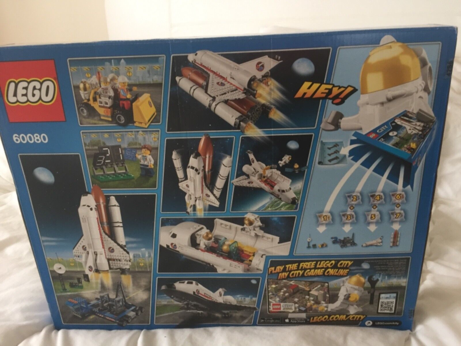 Lego City 60080 inspection retraité 60077 Space Starter Set RETIrouge Neuf Scellé