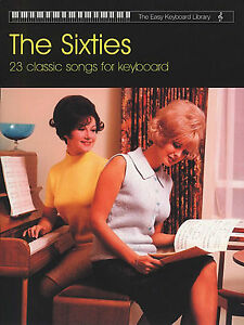 Sixties-Songs-Easy-Keyboard-Sheet-Music-Book-1960s-60s-Chords-Pop-Rock-Chart