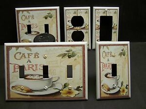 Image Is Loading COFFEE CAFE PARIS KITCHEN DECOR LIGHT SWITCH OR