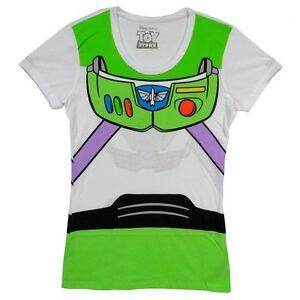 Toy Story I Am Buzz Lightyear Disney Pixar Costume Juniors T Tee