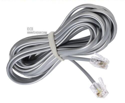 7 foot Phone Line Cord RJ11 6P4C Telephone 7/' Cord 20