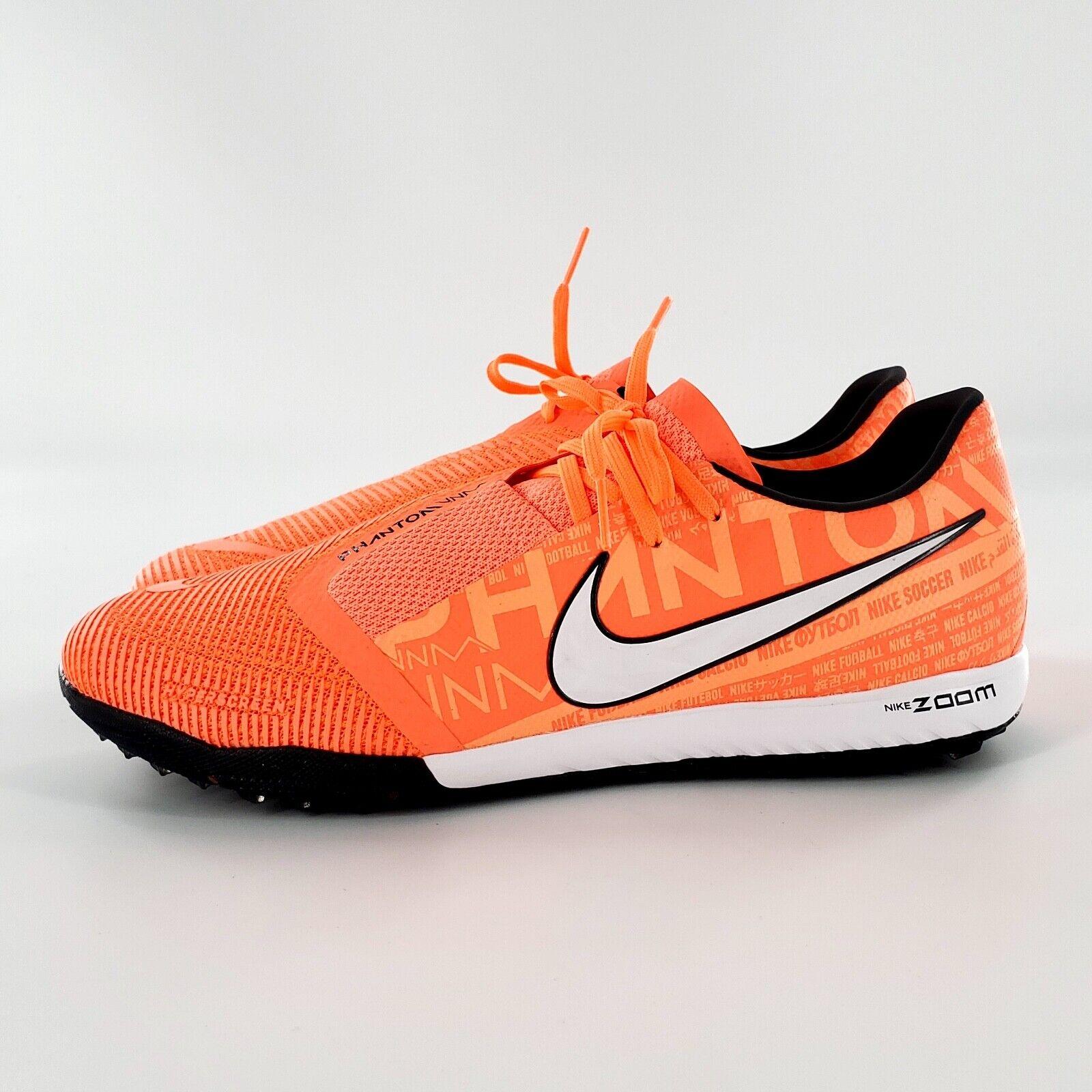 Visualizar Siempre Chirrido  Nike Zoom PhantomX 3 Pro TF Turf Soccer Shoes-grey Orange 8 for sale online  | eBay