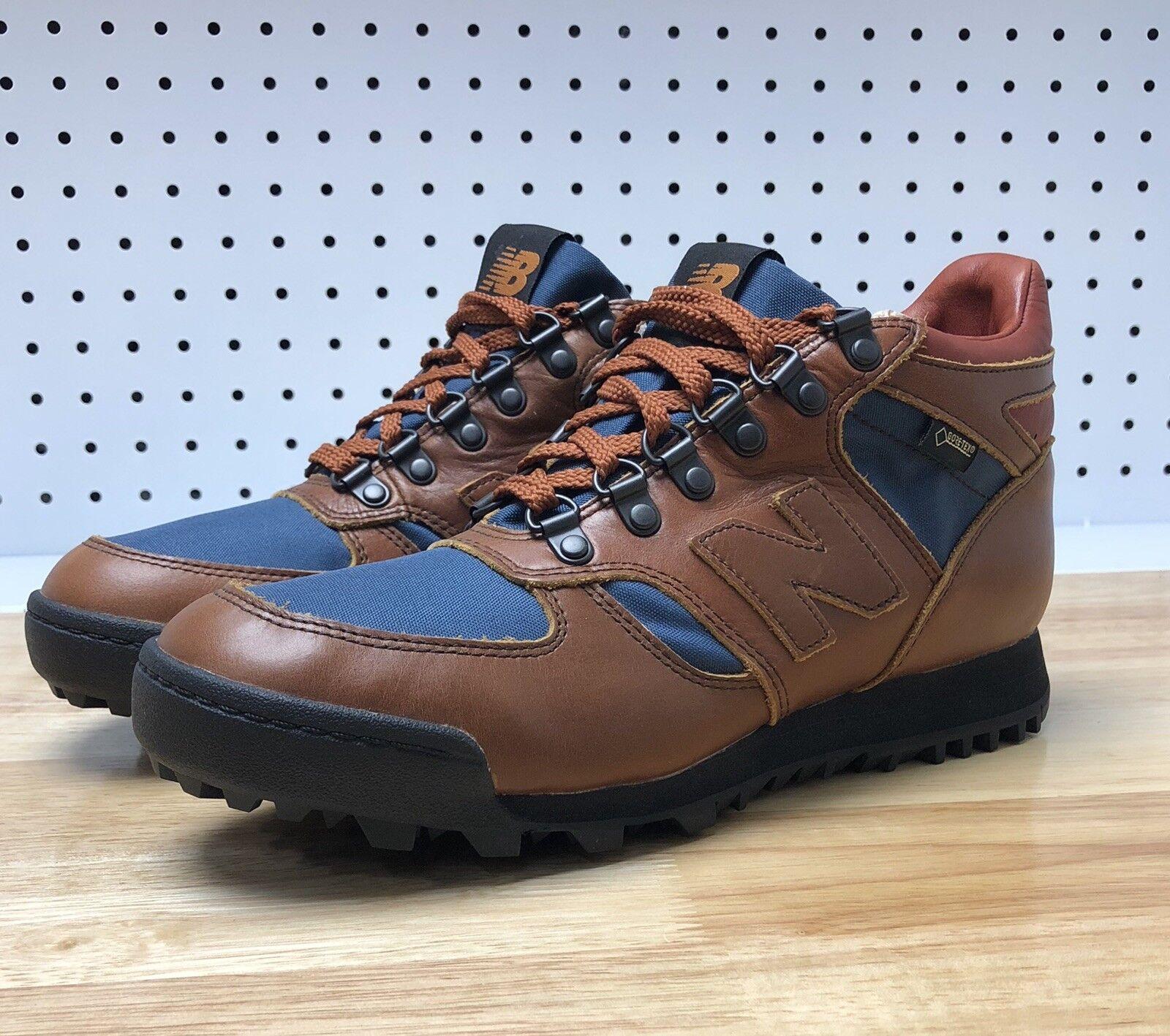 799ec84773f New Balance Rainier Gore Brown bluee Sz 7 Hiking Trail HLRAINOG Camping Tex  ntjfxz5296-Athletic Shoes
