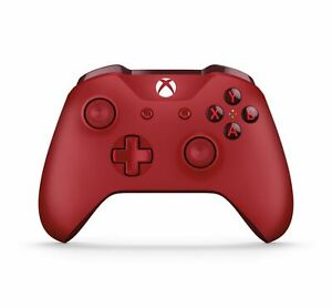 Genuine-Microsoft-Xbox-One-Red-Wireless-Bluetooth-Controller