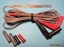 New Fluke Tl910 39l Electronic Test Probe Lead Set 10 Replacement Tips