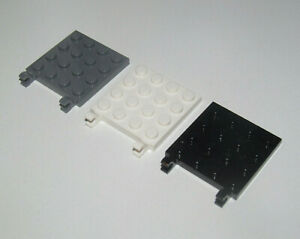 Lego-Plaque-Double-Pinces-Plate-4x4-Vertical-Holder-Choose-Color-ref-11399-NEW