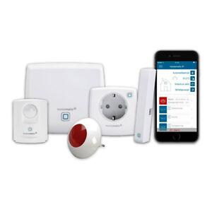homematic ip starter set sicherheit plus f r smart home hausautomation mit acc ebay. Black Bedroom Furniture Sets. Home Design Ideas