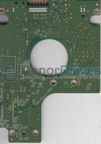 WD5000BMVV-11SXZS1 WD USB 2.5 PCB 2061-771754-500 AA
