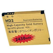 2430mAh Gold Replacement Battery For HTC HD 2 HD2 T8585 T8588 HD9 LEO