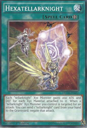 NECH-EN063-1st EDITION YU-GI-OH HEXATELLARKNIGHT