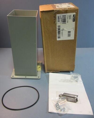 """Hoffman 14520 Enclosure Telescope Wireway Fitting Model F66WA 6""""x6"""" NIB"""