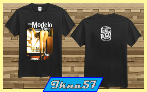 IT/'S MODELO TIME FOO T-shirt Mexico Cerveza Mexican Beer Men/'s size S-2XL