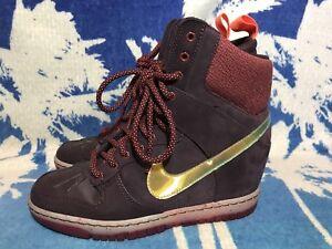Nike WMNS Dunk Sky Hi SNKRBT 2.0 sz 7 USED Sneakerboot Womens  71ee77298