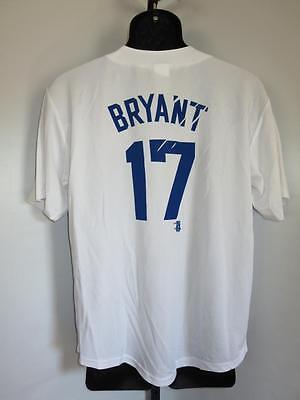 Kris Bryant #17 Chicago Cubs Jugendliche Xl GüNstiger Verkauf New-flaw Weißes Trikot xl 18/20