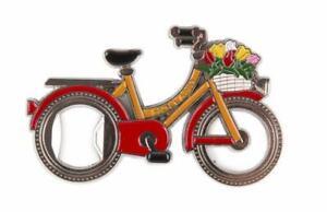 Holland-Fahrrad-Tulpen-Metall-Magnet-Niederlande-Souvenir-15490