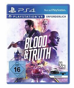 Sony-PS4-Playstation-4-Spiel-VR-Blood-amp-Truth-NEU-NEW-55