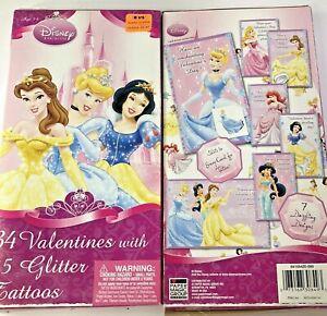 Disney-Princess-Box-34-valentines-cards-with-35-glitter-tattoos-7-Dazzle-Designs