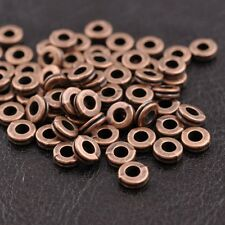 FREE SHIP 100Pcs Tibetan Silver Charms Spacer Beads Jewelry Findings  6MM JK3039
