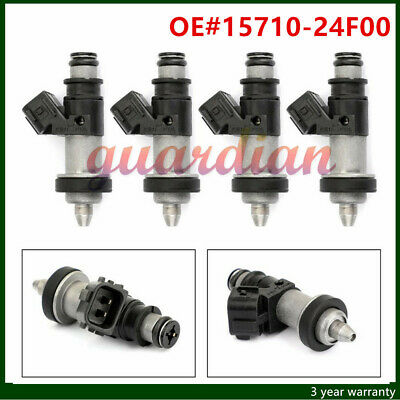 4 X  Fuel Injectors For 15710-24F00 Suzuki GSXR 600-750 1000 Hayabusa GSX1300 US