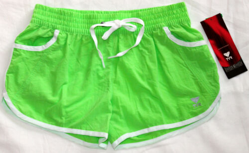 TYR Womens XL Light Green White Exercise Surf Swim Beach Casual Board Shorts New