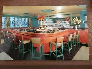 Details About Southampton Li Ny Mccarthy S Bowden Square Restaurant Bar Counter Vtg Postcard