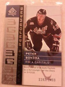 2002-03-SP-Authentic-Hat-Trick-Performers-1193-1499-Peter-Bondra-Card-105