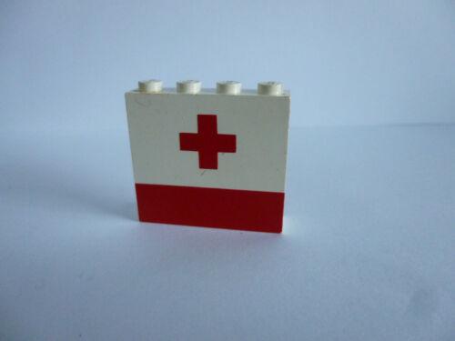 1 x LEGO® 4215 bedruckter Stein Paneele Rotes Kreuz wie auf dem Foto.