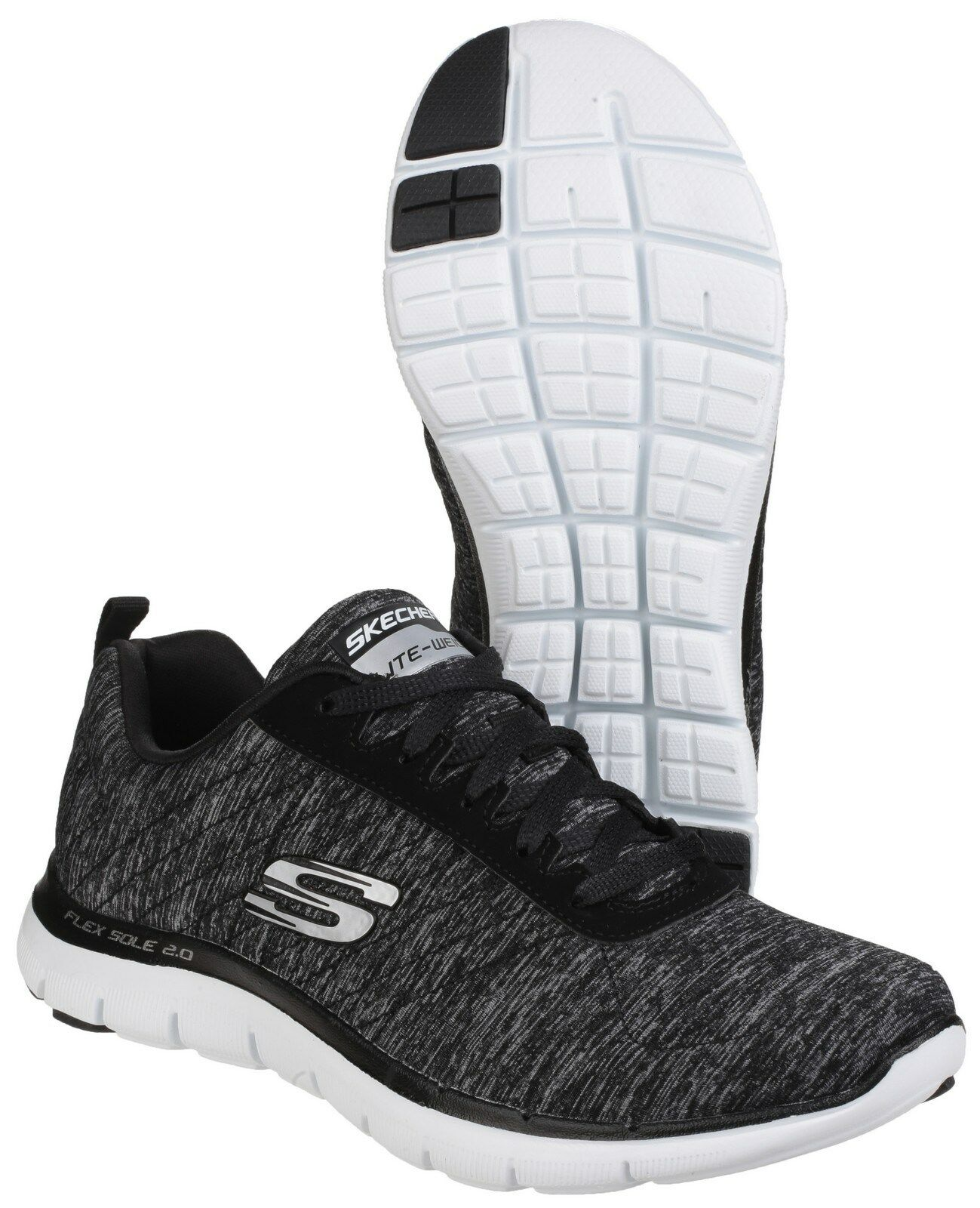 Skechers 2.0 Flex Appeal 2.0 Skechers Damenschuhe Sports Athletic Workout Trainers Schuhes UK3-8 4bb62e