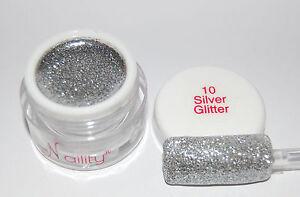 Gel-de-couleurs-UV-LED-7ml-Silver-Glitter-n-10-Naility