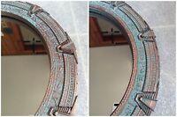 Patina Stargate Mirror Large - SG1 or Atlantis - 12 inches (30 cm).